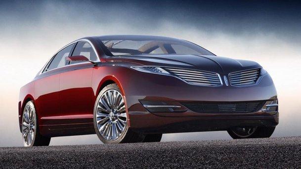 Lincoln MKZ Concept - Ford-ul care rivalizează cu BMW şi Mercedes-Benz