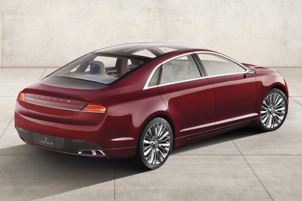Lincoln MKZ Concept are la bază platforma tehnica a noului Ford Fusion/Mondeo