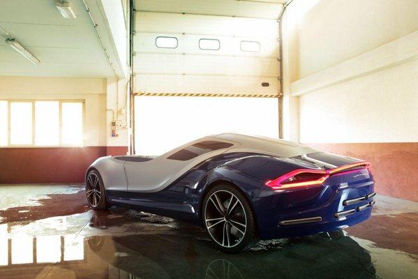 Vittoria are un design cu idei inedite si va beneficia de propulsie hibrida