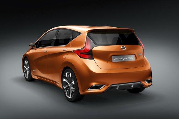 Modelul de serie prefigurat de Nissan Invitation promite un nivel foarte scazut al poluarii