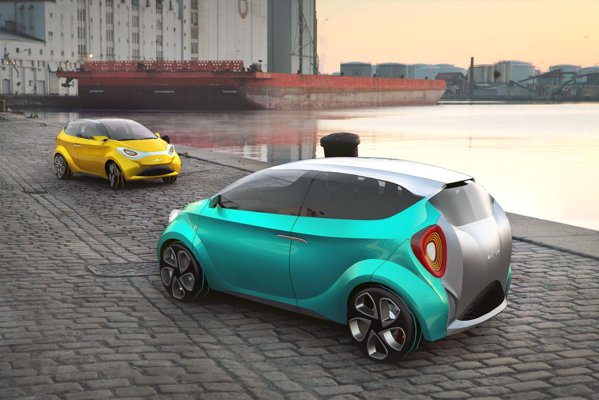 SCI HyMod este un proiect virtual de masina familista ecologica, realizat de trei romani