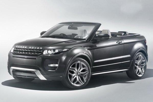 Range Rover Evoque Cabrio este prezentat deocamdata ca si concept la Geneva 2012
