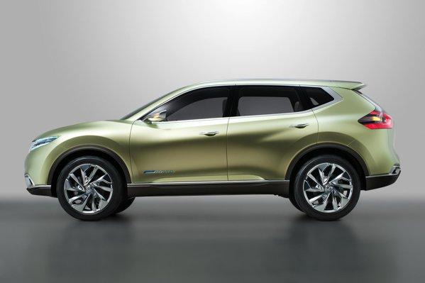 Nissan Hi-Cross ne indica vitoarea directie de design a crossoverelor Nissan