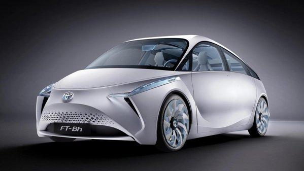 Designul ciudat al conceptului Toyota FT-Bh se conformeaza aerodinamicii