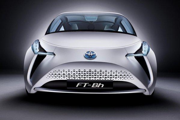 Toyota FT-Bh foloseste un sistem hibrid: un motor in 2 cilindri de 1,0 litri si un motor electric