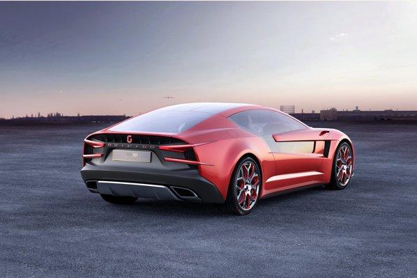 Giugiaro Brivido are un design cuminte si sobru, masina fiind impozanta si eleganta