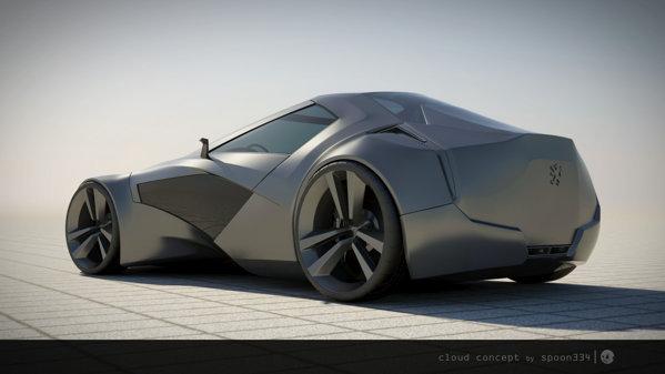 Cloud Concept isi doreste sa rivalizeze cu Porsche 911, Aston Martin DB9 sau Jaguar XKR