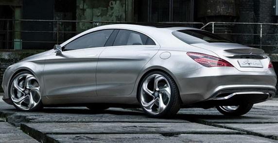 Mercedes-Benz Concept Style Coupe prefigureaza noul coupe cu 4 usi CLA