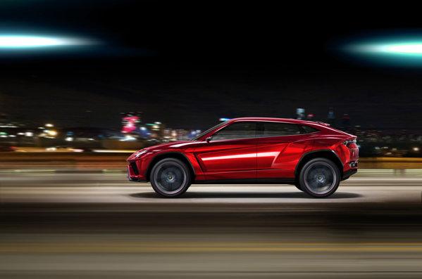Modelul de serie Lamborghini Urus va avea cel putin 600 CP si o caroserie usoara
