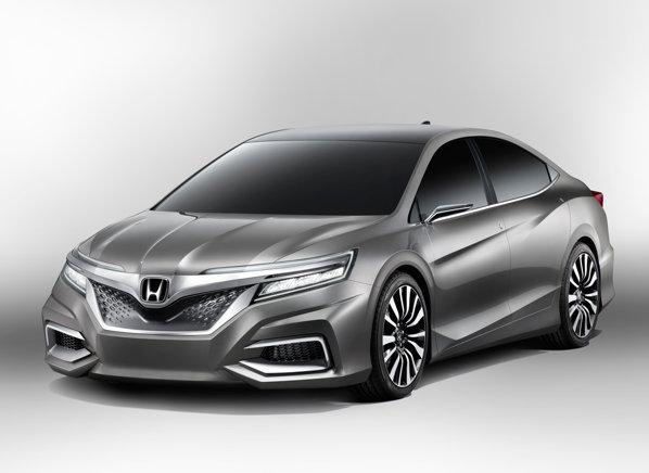 Honda Concept C prefigureaza o berlina de clasa medie