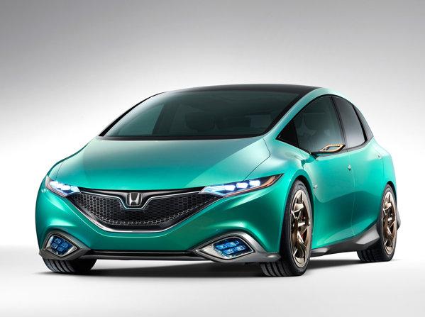 Honda Concept S va fi un monvolum compact cu propulsie hibrida