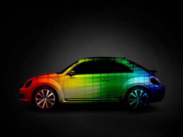 Music Car îşi poate schimba culoarea în funcţe de muzica ascultată de şofer.