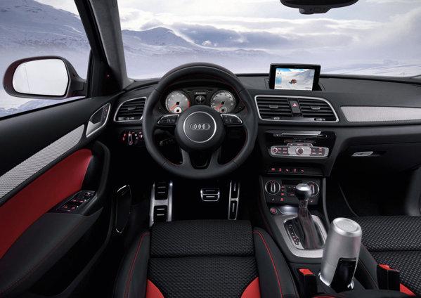 Audi Q3 Red Track anunta o iminenta versiune sportiva de serie a lui Audi Q3