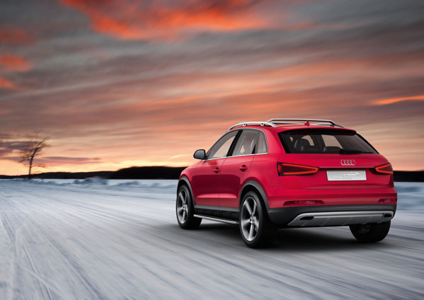 Audi Q3 Red Track pentru Worthersee 2012 are un motor turbo de 340 CP