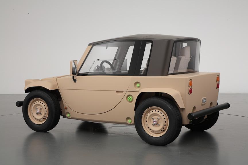 Toyota Camatte Este Un Concept Pentru Copii