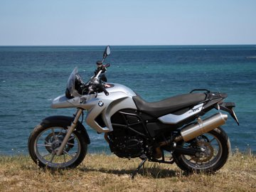 BMW F 650 GS - test în RO