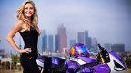 Fete şi motoare: Leah Petersen, cascador profesionist