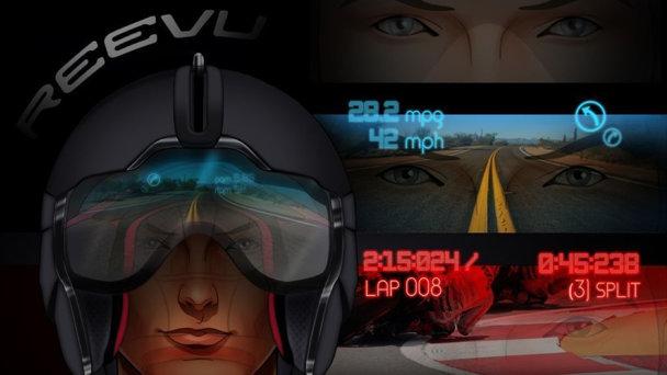Reevu propune casca de motocicletă cu head-up display
