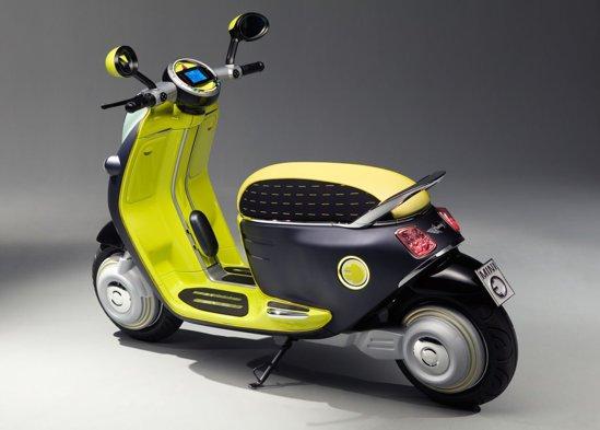 Mini Scuter E Concept este raspunsul dat de BMW lui smart escooter