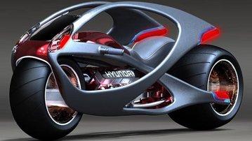 Hyundai Concept Motorcycle - propunerea inedită a unui designer coreean