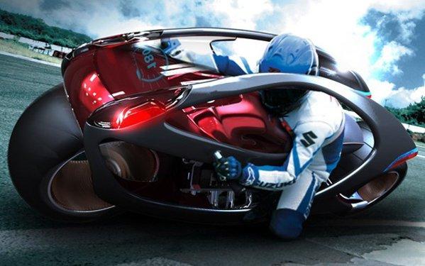 Hyundai Concept Motorcycle - idee futurista pentru virarea in curbe