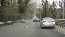 Demenţa pe şosele: episodul lunii aprilie. VIDEO