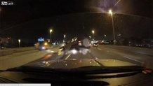 Ce poţi păţi dacă nu păstrezi distanţa pe autostradă. Din nou. VIDEO