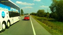 Criminali la volan: prioritatea de autocar românesc. VIDEO