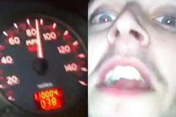 """Doi tineri din Marea Britanie şi-au filmat drumul spre moarte. """"Mergi cu 140, omule, încetineşte!"""" - VIDEO"""