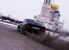 BMW Seria 5 şi un tractor. Cine câştigă?