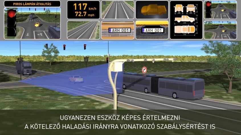 Atenţie, şoferi! La câteva sute de kilometri de Bucureşti a fost instalat RADARUL INTELIGENT! Vezi cum funcţionează!