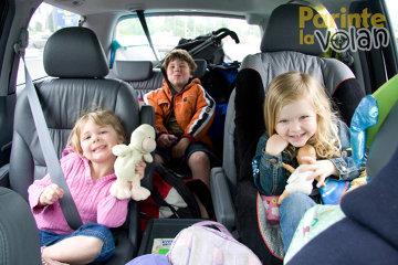 5 sfaturi vitale pentru siguranţa copiilor în maşină