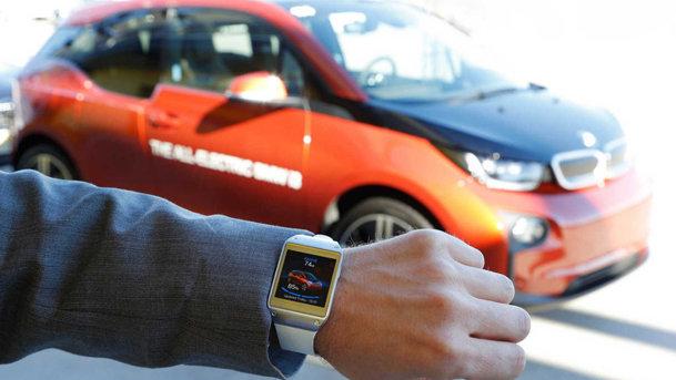 BMW i3, conectat cu utilizatorii prin ceasul inteligent Galaxy Gear