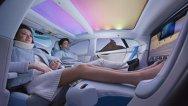 Faceţi cunoştinţă cu viitorul! Maşina autonomă cu interior business class. VIDEO