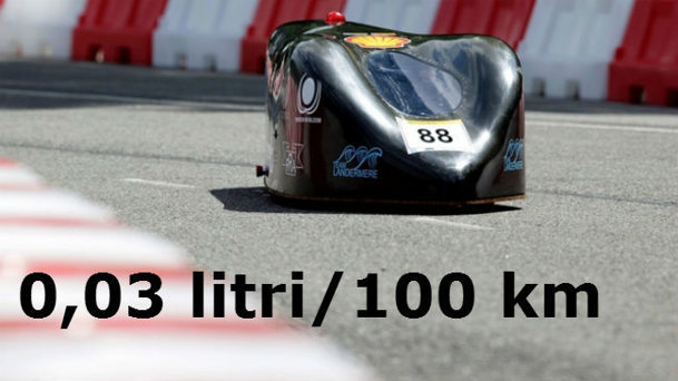 Consum de numai 0,03 litri/100 km - nou record la Shell Eco-Marathon 2014