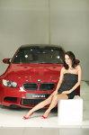 Andreea Raicu şi BMW M3