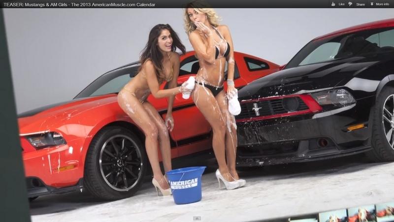 Imagini Fete I Ma Ini Calendarul Mustangs Girls Teaser
