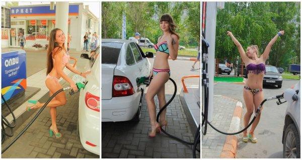 Benzinăria cu surprize [VIDEO]