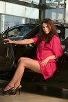 """Cristina """"în vizită"""" la Mazda - pictorial"""