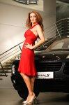 Mihaela Rădulescu & Porsche Cayenne
