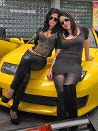 Fetele de la Salonul de Tuning Bucureşti 2011