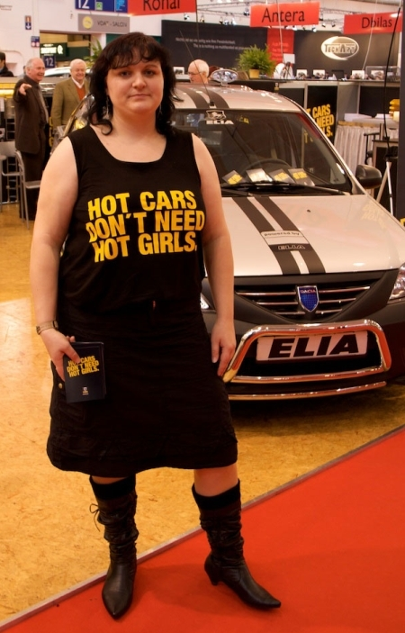 HOT CARS DON'T NEED HOT GIRLS