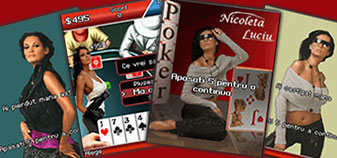 Nicoleta Luciu Poker, jocul de mobil.