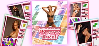 Roxana Ciuhulescu Sexy Bricks, jocul de mobil.