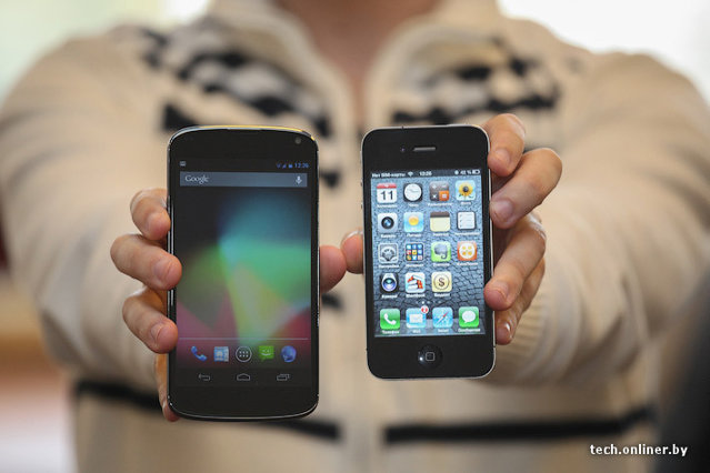 LG Nexus E960 vs Apple iPhone 4S