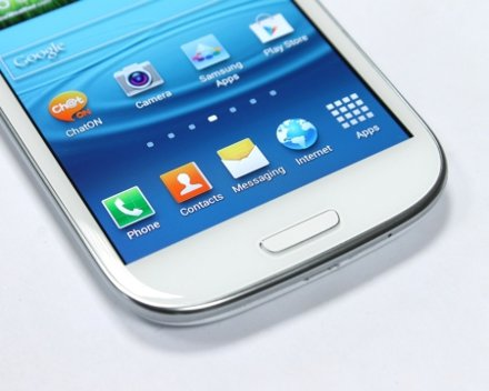 Samsung Galaxy S III are un ecran superb!