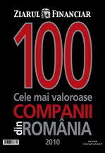 ZIARUL FINANCIAR lansează Top 100 cele mai valoroase companii din România