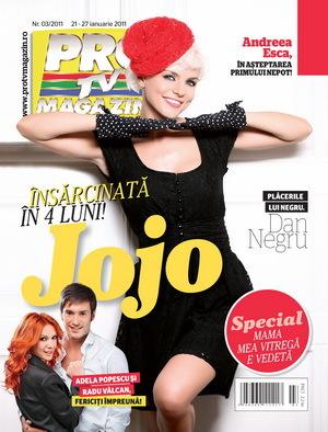 Jojo mărturiseşte în noua ediţie ProTv Magazin că este însărcinată