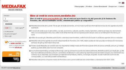 """Mediafax lansează a treia ediţie a campaniei """"Informaţie fără limite"""""""