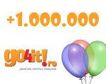 Go4it a depăşit bariera de un milion de vizitatori unici pe lună